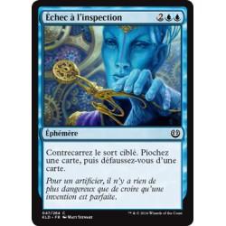 Bleue - Echec à l'inspection (C) [KLD]