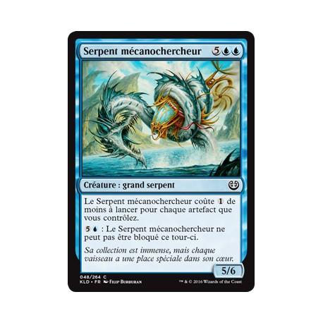 Bleue - Serpent mécanochercheur (C) [KLD]