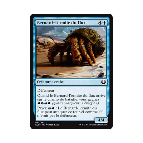 Bleue - Bernard-l'ermite du flux (C) [KLD]