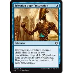 Bleue - Sélection pour l'inspection (C) [KLD]