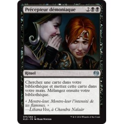 Noire - Précepteur démoniaque (U) [KLD]