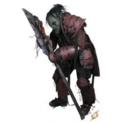 Set armure Brute Orque Brun