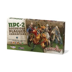 Black Plague - NPC-2 Notorious Plague Characters 1 - Zombicide