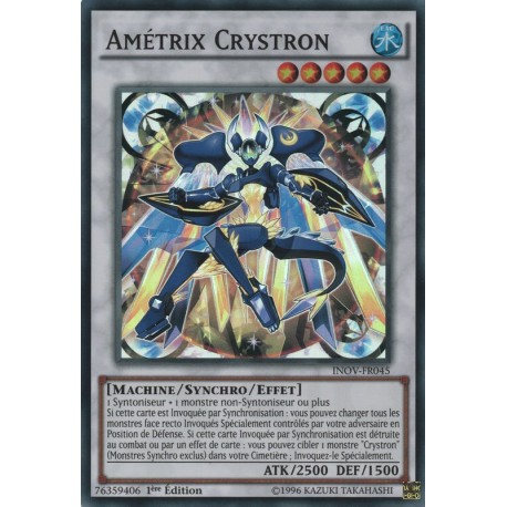 Amétrix Crystron (SR) [INOV]