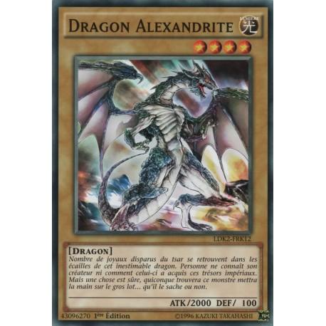 Dragon Argent aux Yeux Azur (C) [LDK2]