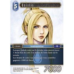 Final Fantasy - Eau - Quistis (FF2-127R)