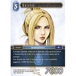 Final Fantasy - Eau - Quistis (FF2-127R) (Foil)