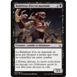 Noire - Balafreur d'os en maraude (C) [HOU] FOIL