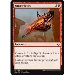 Rouge - Ouvrir le feu (C) [HOU] FOIL