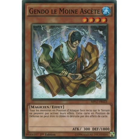 Yugioh - Gendo Le Moine Ascète (C) [MP17]