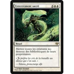Blanche - Enterrement sacré (R)
