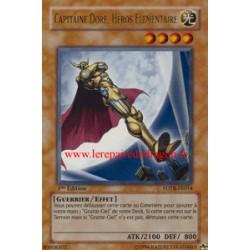 Capitaine Doré, Héros Elémentaire (UR)