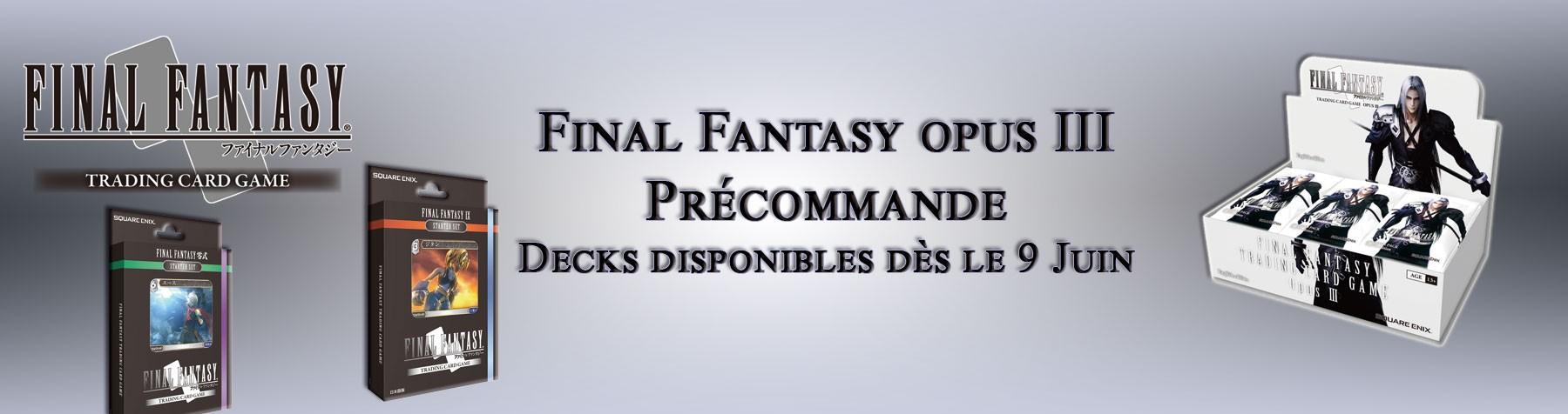 Final Fantasy Opus 3 précommande