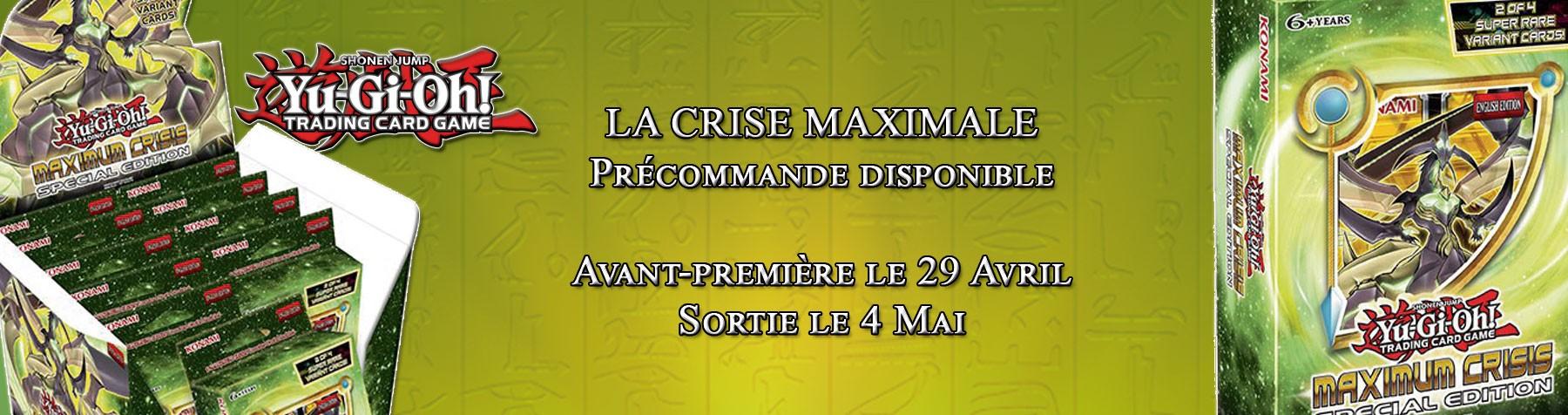 Yu-Gi-Oh ! La Crise Maximale !