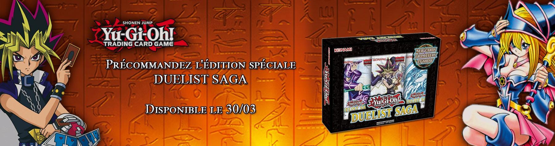 Yu-Gi-Oh ! Duellist Saga en précommande pour le 31/03 !