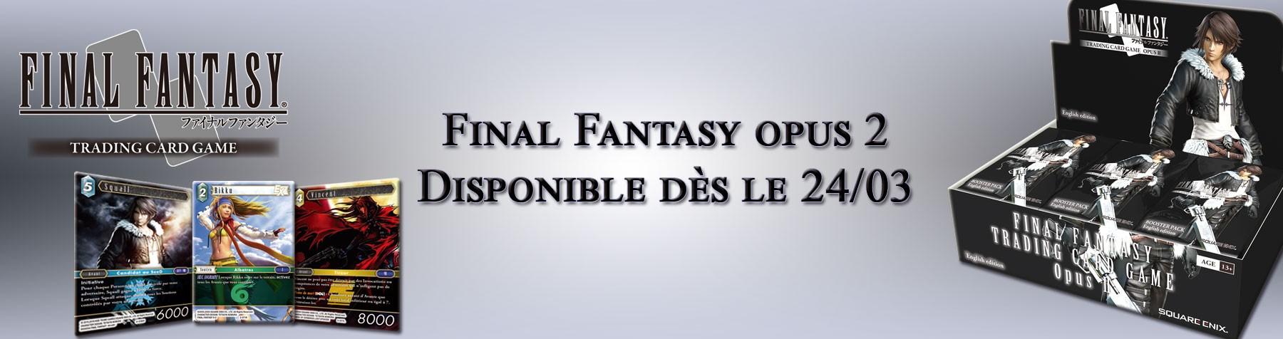 Final Fantasy Opus 2 disponible dès le 24/03 !