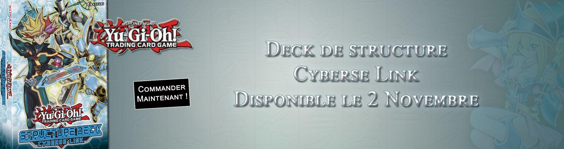 Yu-Gi-Oh ! Deck Cyberse Link