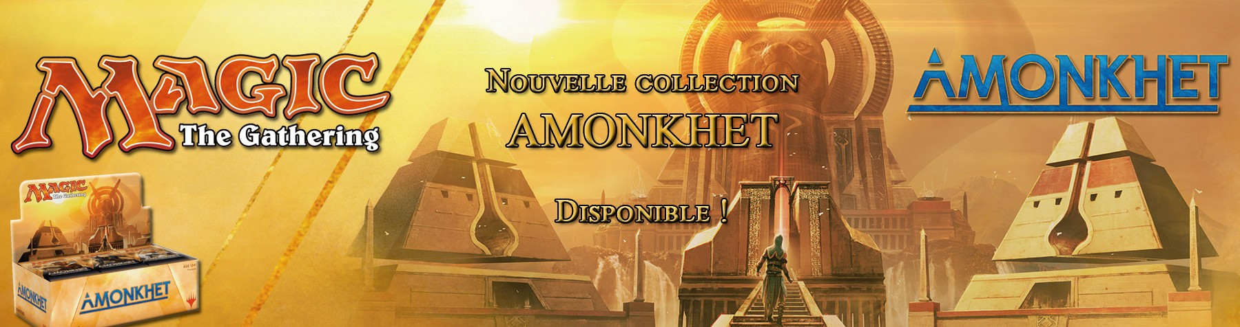Nouvelle collection Amonkhet Magic The Gathering