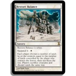 Blanche - Rectification de l'équilibre (R)