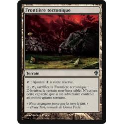 Terrain - Frontière tectonique (U)
