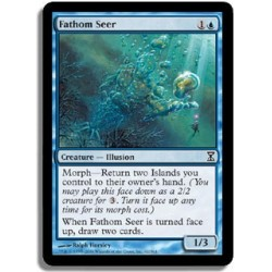 Bleue - Voyant des fonds marins (C)