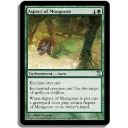 Verte - Aspect de la mangouste (U)