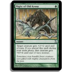 Verte - Puissance de l'ancienne Krosia (U)