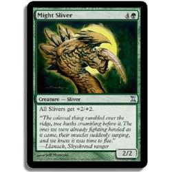 Verte - Slivoïde de puissance (U)