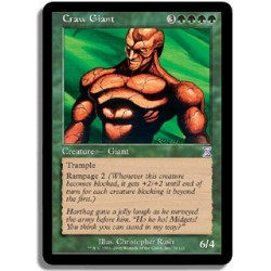Verte - Géant vorace (R)
