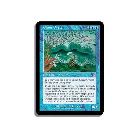 Bleue - Huître géante (R)
