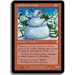 Rouge - Bonhomme de neige gobelin (R)
