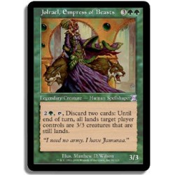 Verte - Jolrael, impératrice des bêtes (R)