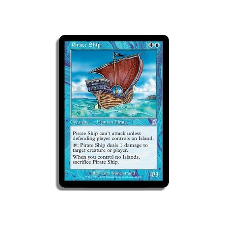 Bleue - Navire pirate (R)