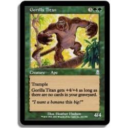 Verte - Gorille titanesque (U)