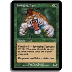Verte - Tigre jaillissant (C)