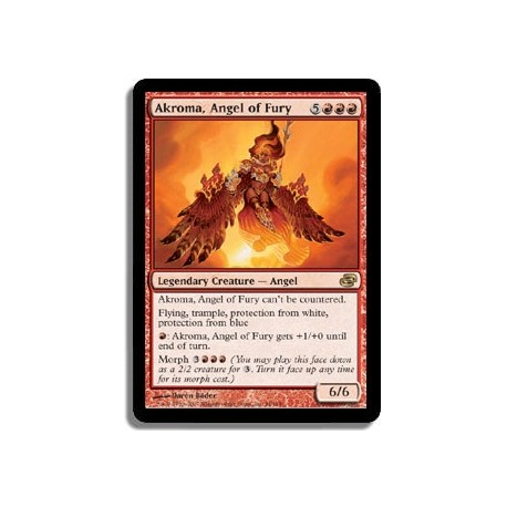 Rouge - Akroma, ange de la Fureur (R)