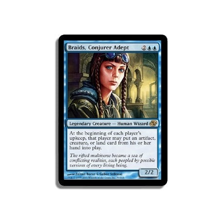Bleue - Nattes, experte en conjuration (R)