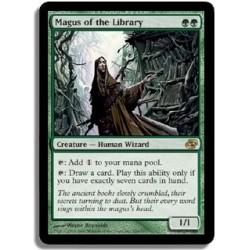 Verte - Mage de la bibliothèque (R)
