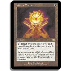 Artefact - Matrice de puissance (R)