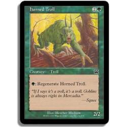 Verte - Troll cornu (C)