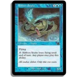 Bleue - Serpent ruban (C)