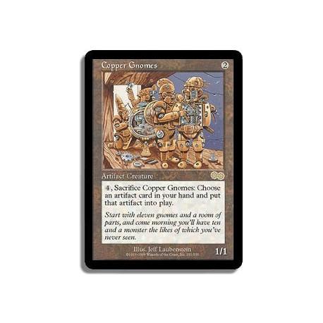 Artefact - Gnomes en cuivre (R)