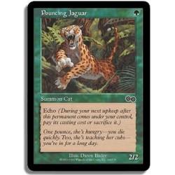 Verte - Jaguar bondissant (C)