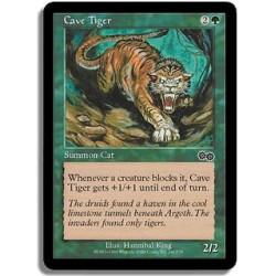Verte - Tigre des cavernes (C)