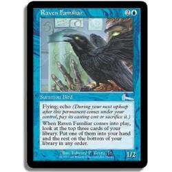 Bleue - Familier corbeau (U)