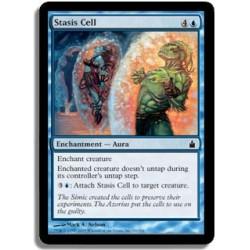 Bleue - Cellule de stase (C)