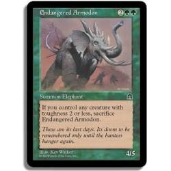 Verte - Armodon menace (C)