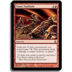 Rouge - Fusillade de flammes (R)
