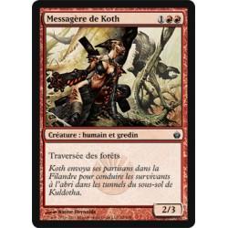 Rouge - Messagère de Koth (C) [MBS]