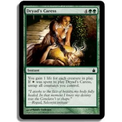 Verte - Caresse selon la dryade (C)